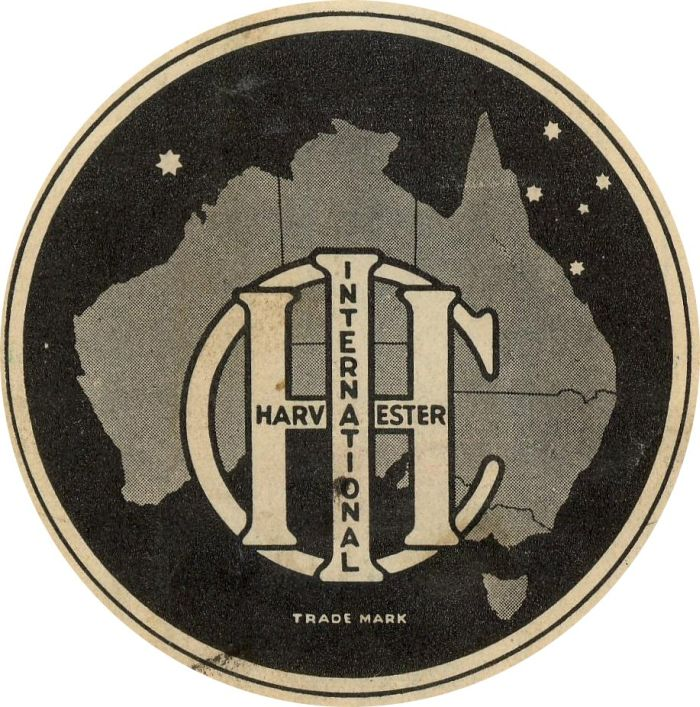 International Harvester Logo >> ihc