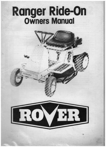 Rover ride on mower wiring diagram | manual e-books.